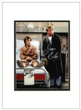 Only When I Laugh Signed Photo - Bolam & Strauli